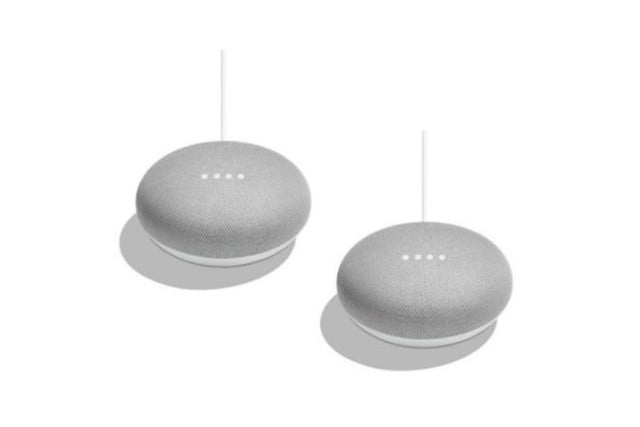 woot google home mini 2 pack one day sale 750x500