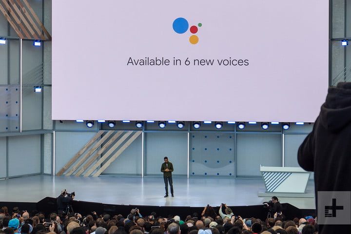 Image result for new google voice assistant IO