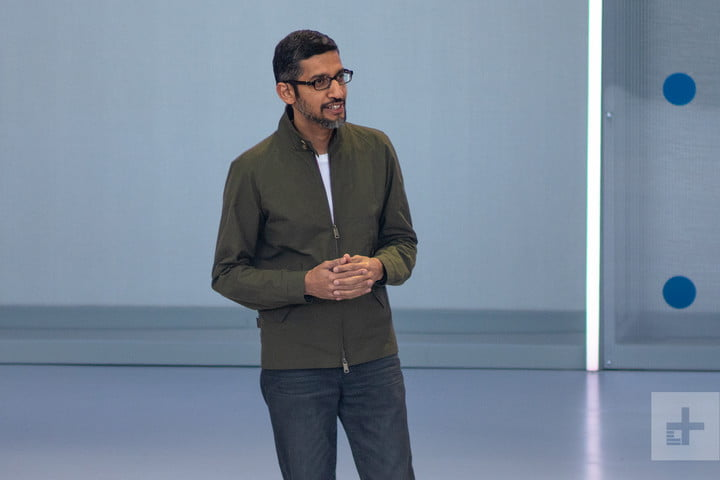 google android time management controls io 2018 stage sundar pichai 3 2