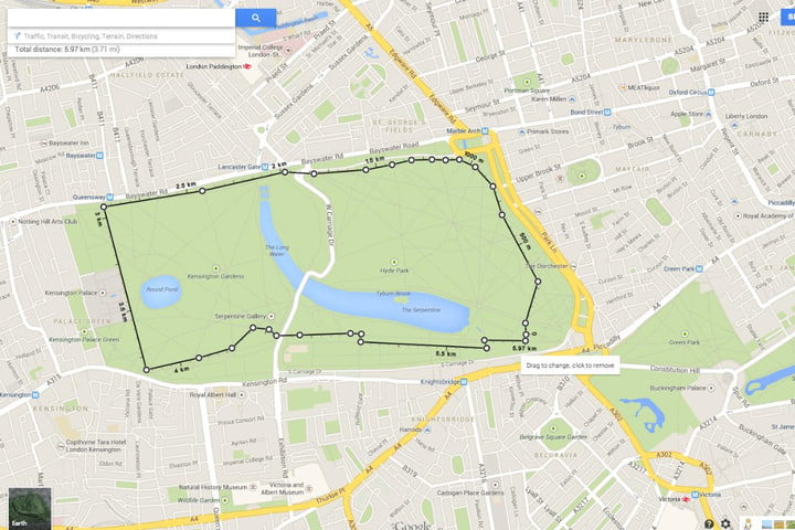 Google Maps rolls out handy distance calculation tool