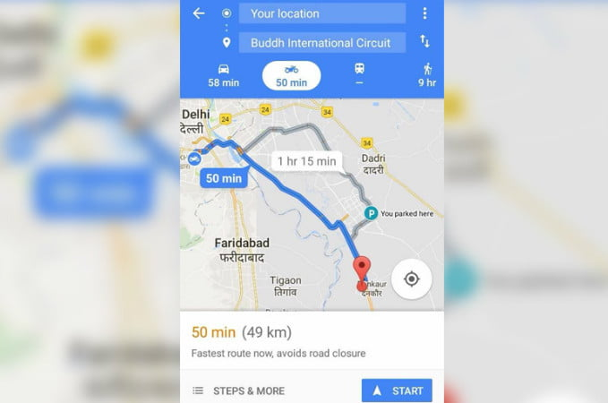 Grab your helmet: Google Maps for motorcycles is coming - CBS News 8 ...