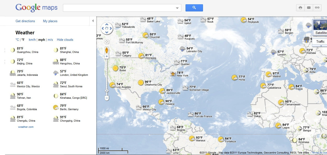 Google adds weather layer to maps digital trends google adds weather layer to maps weather2 gumiabroncs Image collections