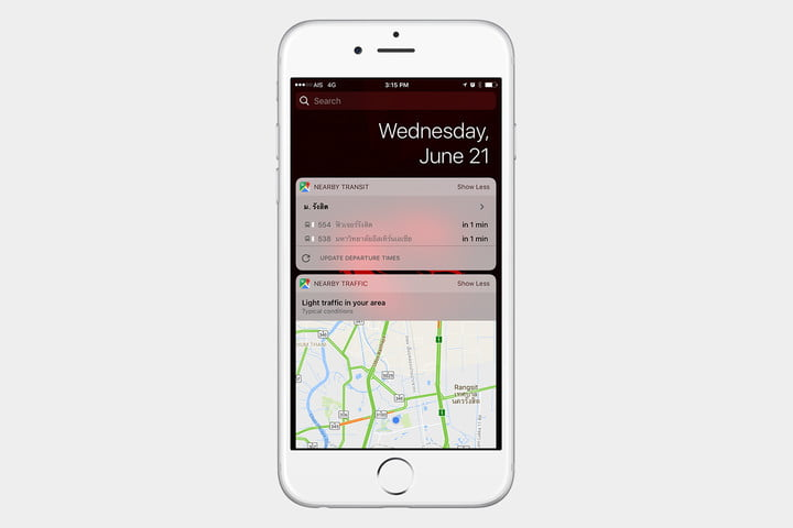 The best ios 10 widgets for your iphone or ipad digital trends best ios 10 widgets google maps gumiabroncs Image collections