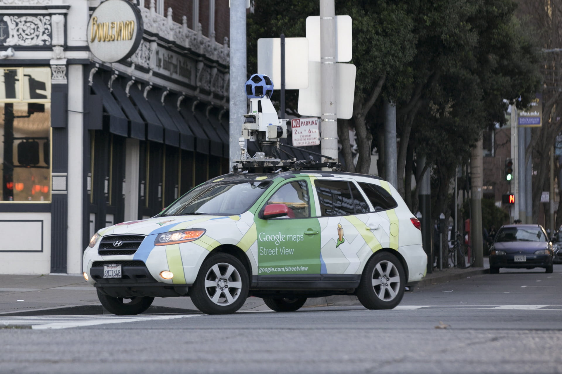 Google's Street View cars are helping build a giant map of global