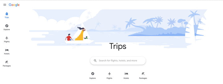 Google's new Trips site aims to help with all of your travel planning