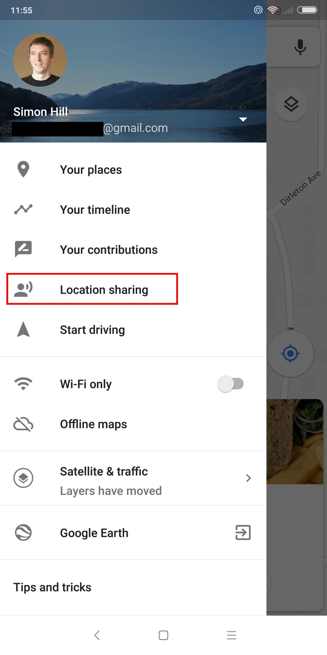 How To Use Google Maps Digital Trends 2 Way Switch Earth Share Your Real Time Location