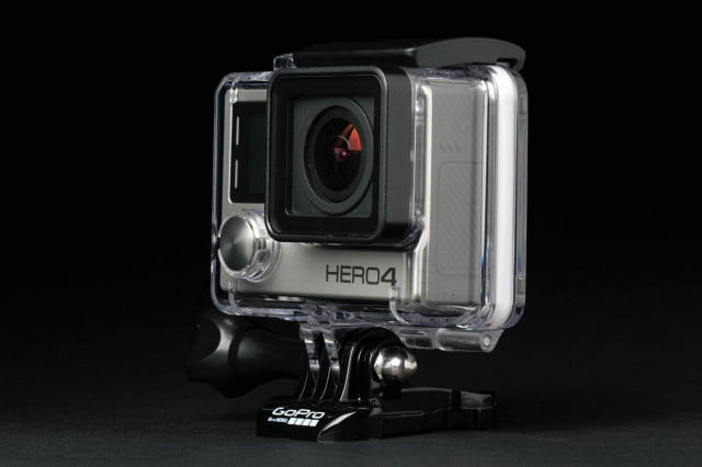 GoPro Hero4 Silver back angle
