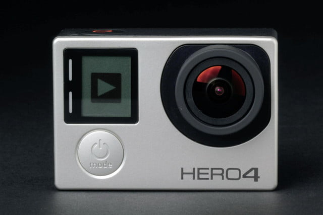 gopro hero4 silver front lens