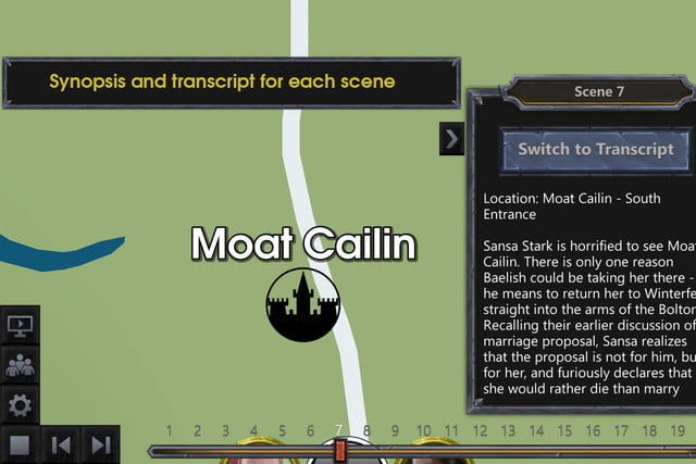 Game of Thrones Interactive Map Available for iOS, Android | Digital ...