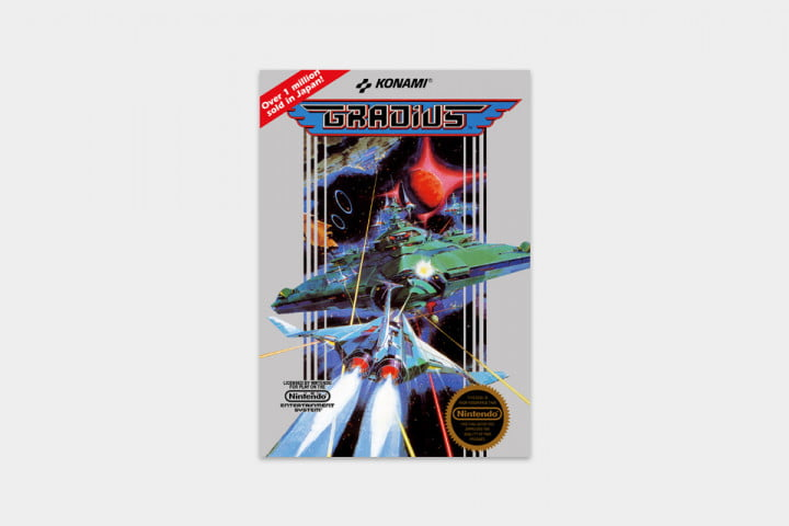 best nes games ever gradius cover