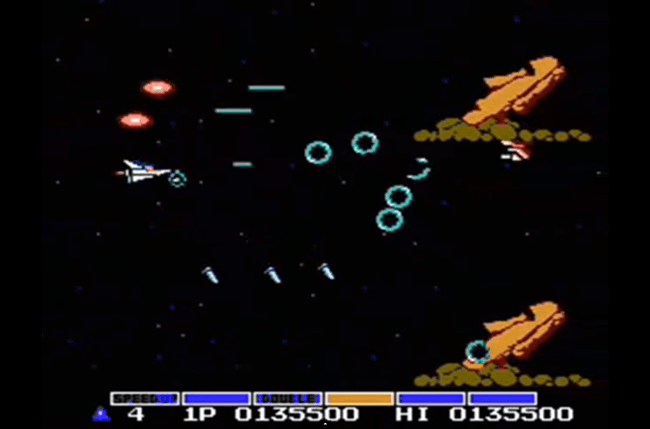 best nes games ever gradius screen 3