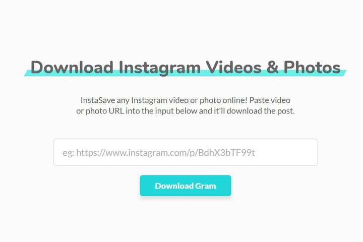 how to save instagram videos gramblast