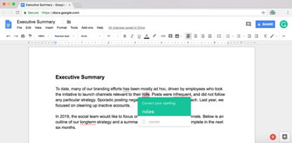 Grammarly Arrives as Chrome Extension to Improve Your