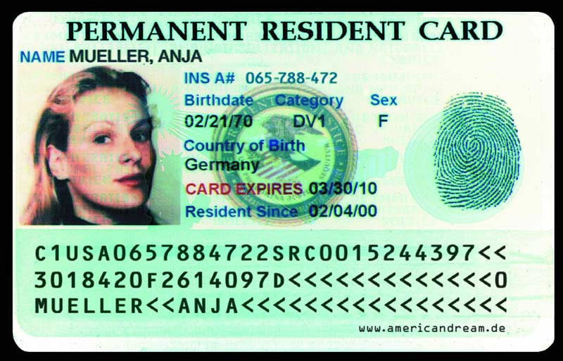 Image result for American green card