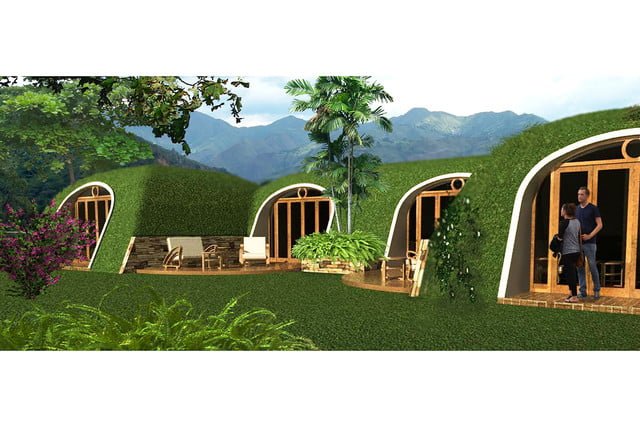 green magic homes are prefab houses covered in plants 0013