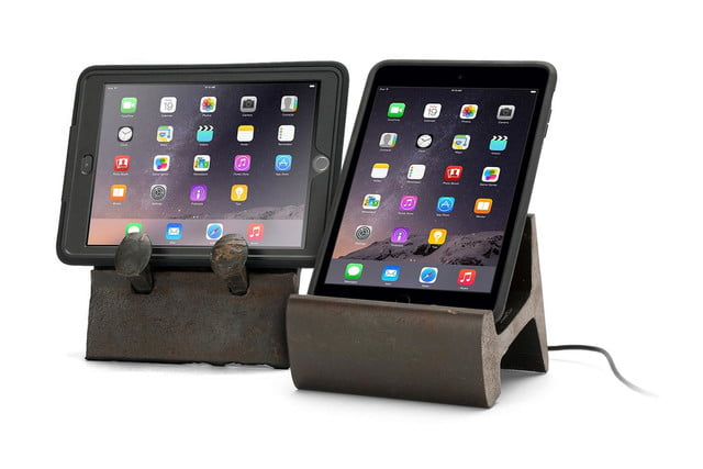 Griffin + Rail Yard Studios Rail Artifact and Rail Slice Tablet Stands