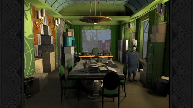 Grim Fandango screenshot 1