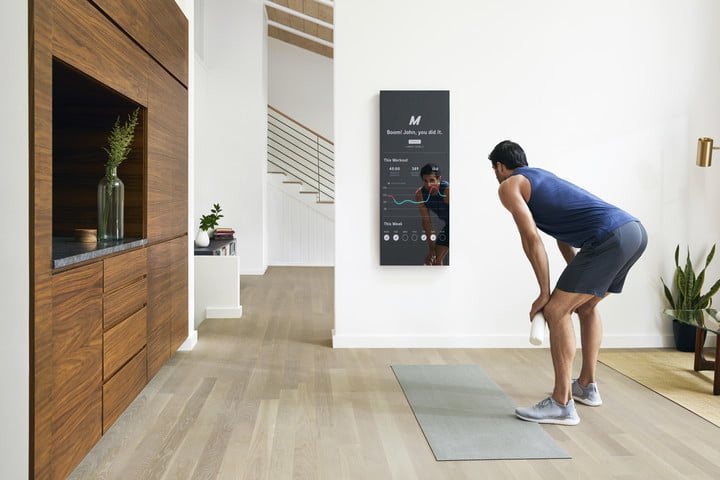 mirror at home gym experience smart lifestyle 6148