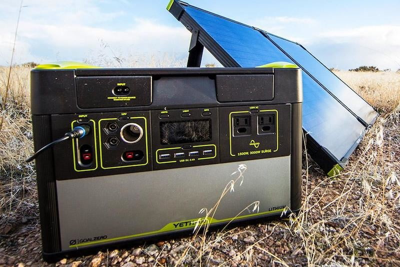 outdoor portable power stations gz yeti 1400 lithium