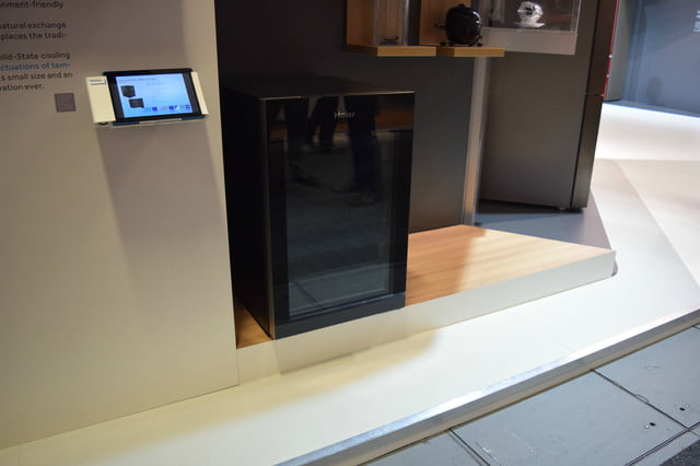 haiers solid state wine fridge uses magnetic cooling haier 5