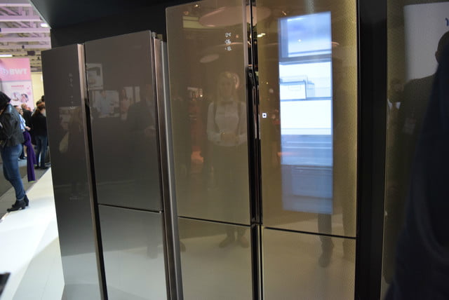 cool fridges from ifa 2015 haier smart window fridge 6