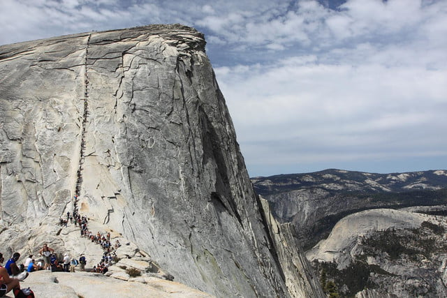 Half-Dome-Cable-Route