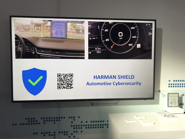 harman combats cyberattacks on autonomous vehicles at ces shield sensor spoofing demo 2018