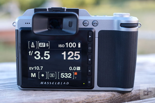 Hasselblad X1D 50c Review back