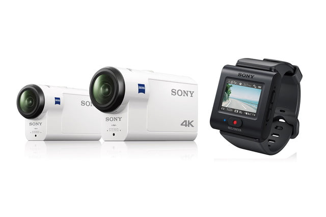 Sony HDR-AS300, FDR-X3000, and Live View Remote