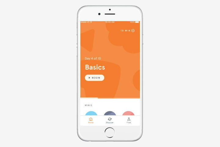 best health and fitness apps for iphone headspace