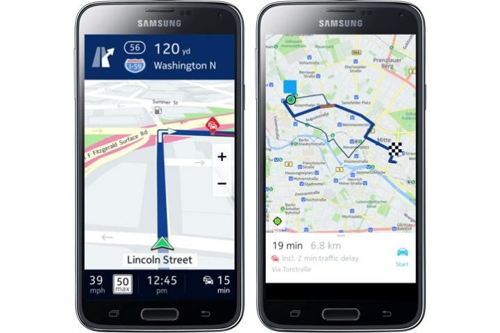 Here Maps comes to Galaxy Android phones, thanks to exclusive Samsung deal (Updated)
