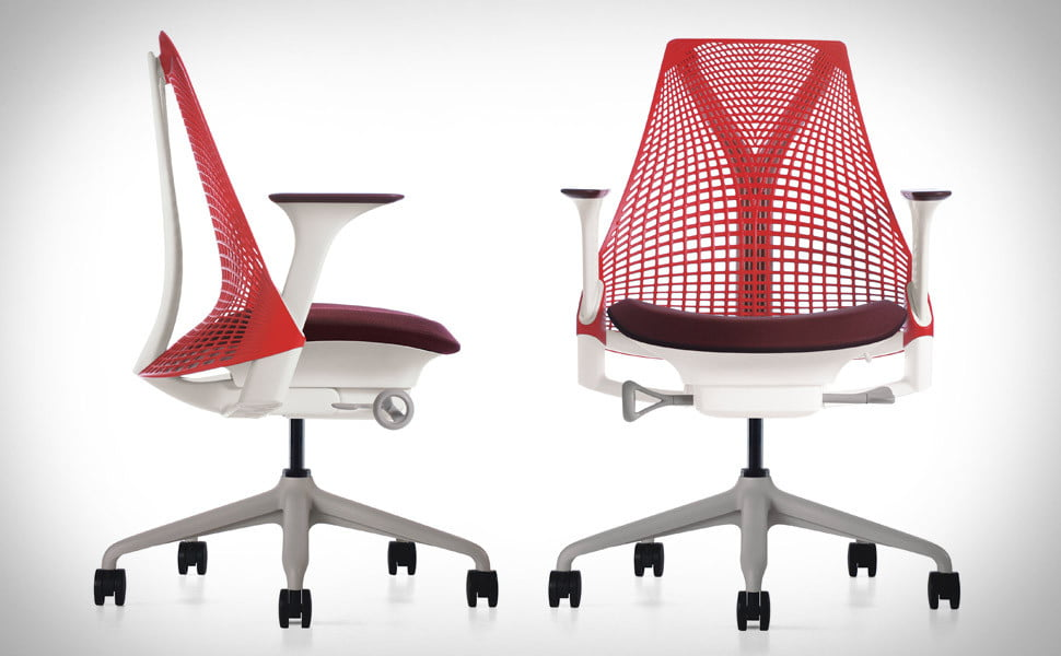 Herman Miller SAYL Chair Inspired By The Golden Gate Bridge - Sayl chair