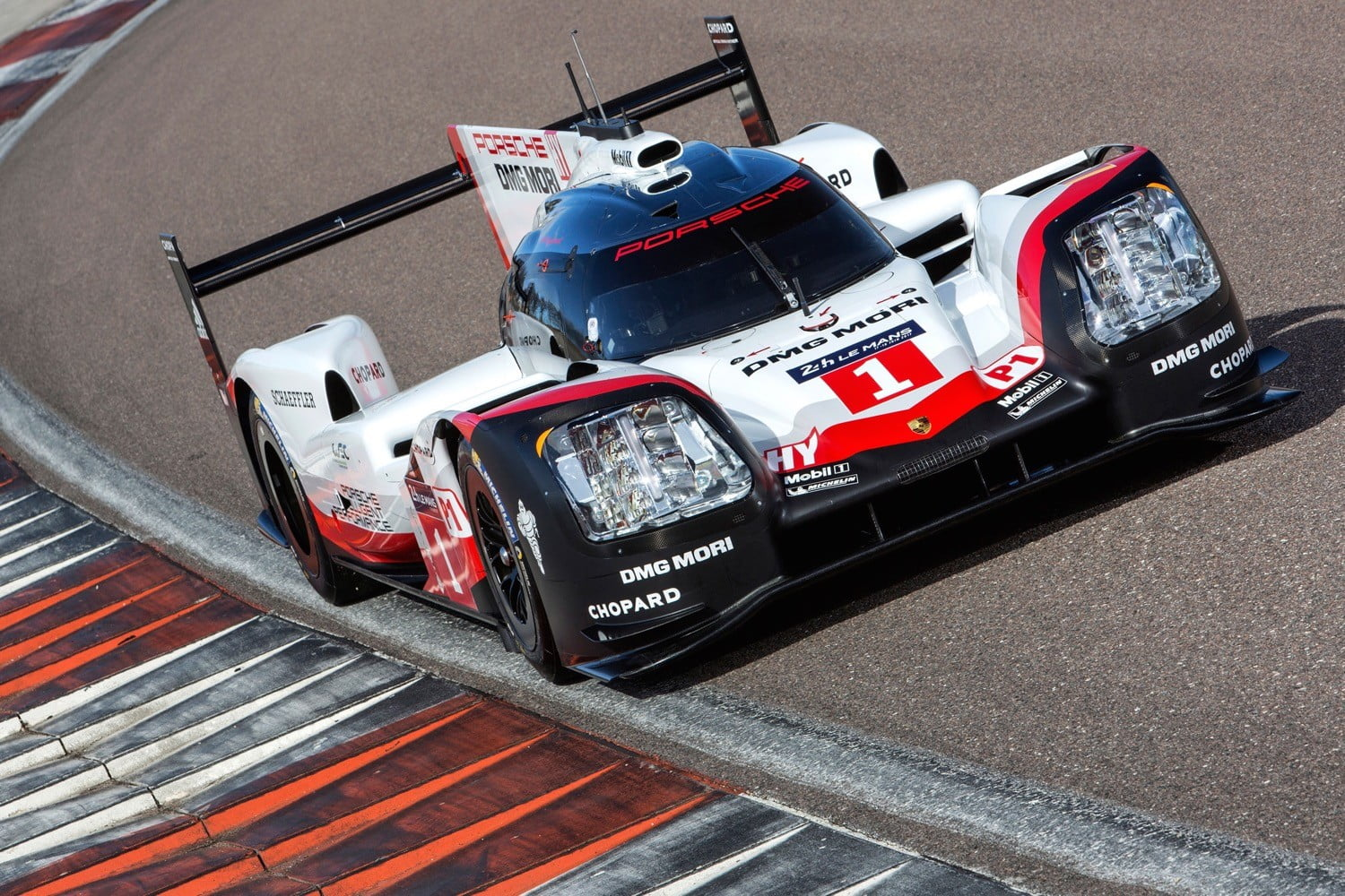 Porsche S 919 Hybrid Screams Out Of The Corners With Electric All Wheel Drive
