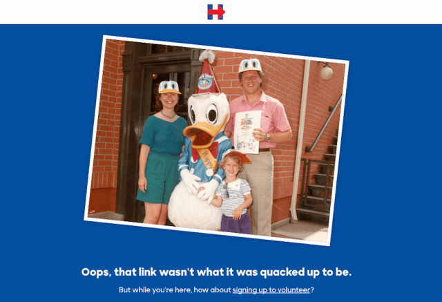 presidential candidates 404 pages hillary