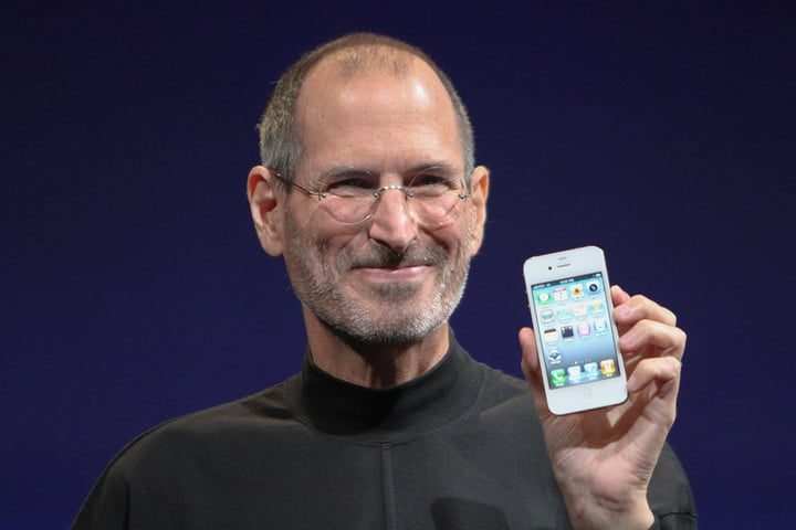 history of the iphone steve jobs