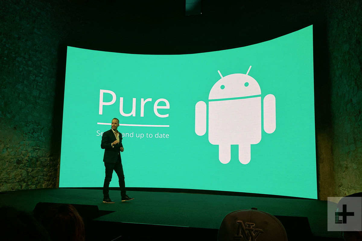 android one stage presentation