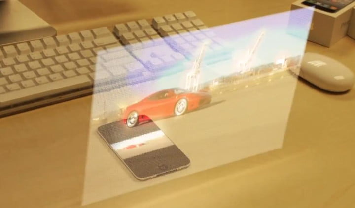 Your next smartphone could have a holographic projector inside it