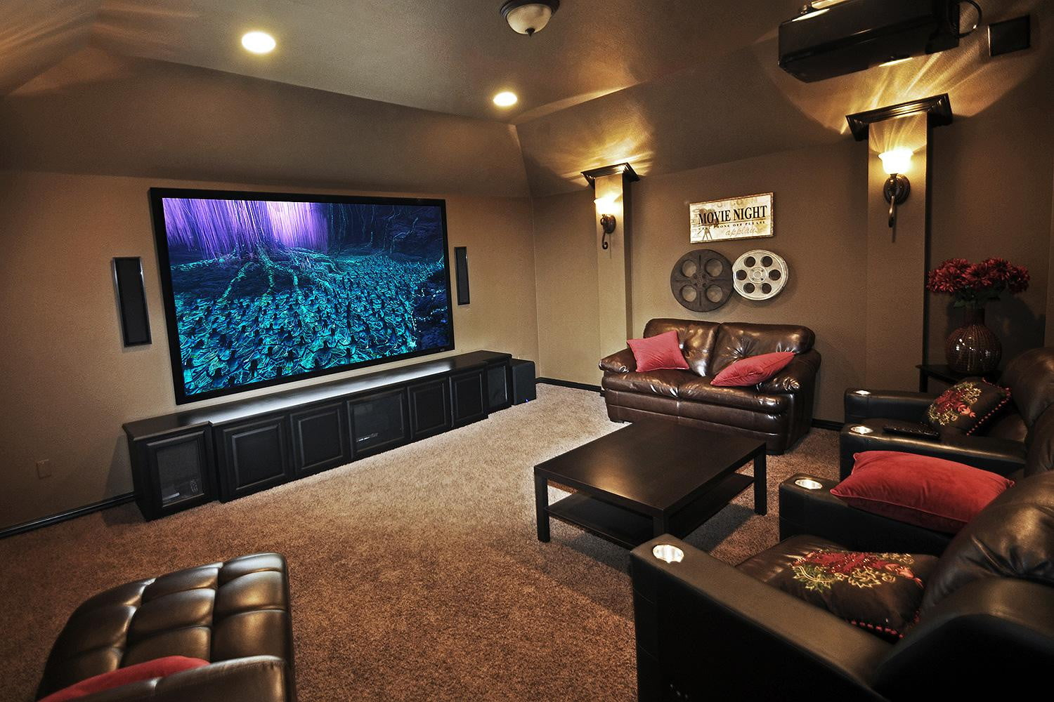 How To Build A D Home Theater For Digital Trends - Home movie room