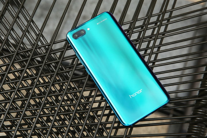 honor 10 news phantom blue back