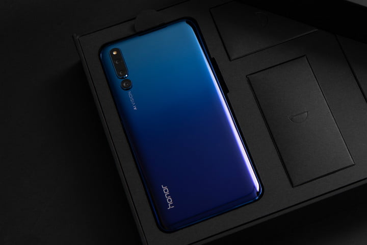honor magic 2 news blue