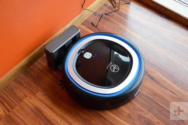 Hoover Rogue 970 robot vacuum review charging