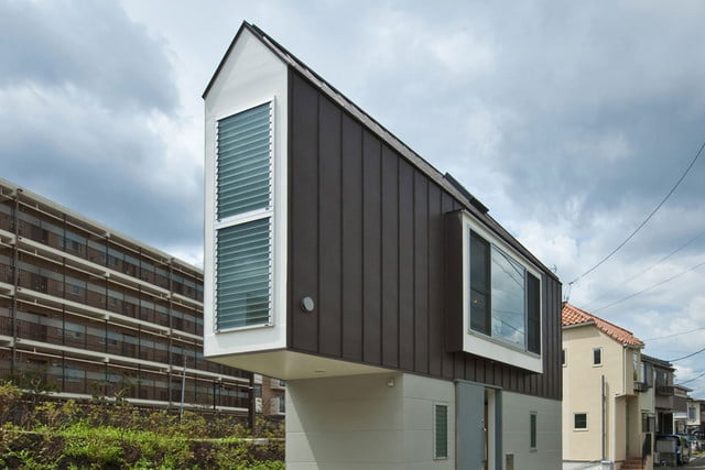 Tiny Japanese Horinouchi Homes Make Use Of Small Space House 07