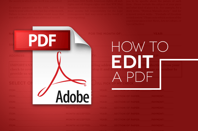 How to edit a pdf tips tricks and software digital trends ccuart Gallery