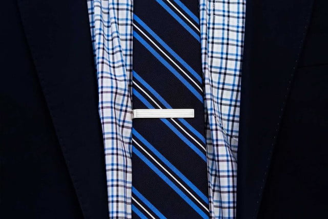 How to Wear a Tie Clip