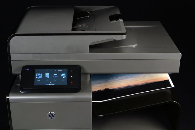 HP OfficeJet Pro X top front