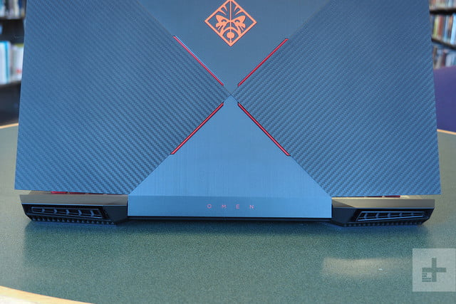 HP Omen 15 review back vents