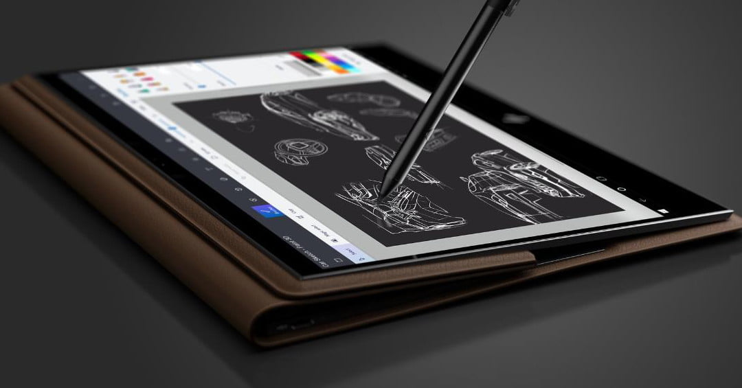 Hp Spectre Folio Hands On Review Leather Means Luxury