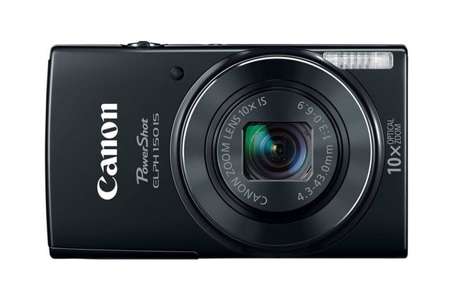 new canon powershot cameras 2014 cp plus camera show hr elph150is black front cl
