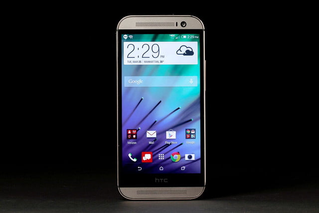HTC 1 M8 front home