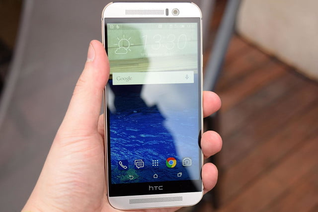 HTC One M9 front full